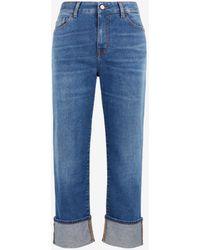 Roberto Cavalli Just Cavalli Cropped Jeans - Blue