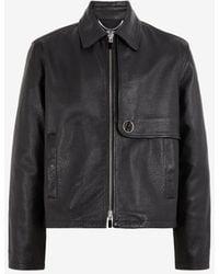 Roberto Cavalli Just Cavalli Faux-leather Jacket - Black