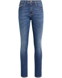 Roberto Cavalli Stretch Skinny Jeans - Blue