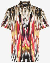 Roberto Cavalli Just cavalli abstract-print shirt - Weiß