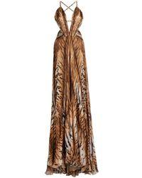 "Roberto Cavalli The ""perfume"" Dress - Brown"