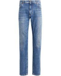 Roberto Cavalli E Jeans mit geradem Bein - Blau