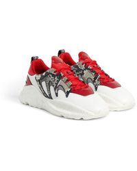 Roberto Cavalli - V1per Python-print Sneakers - Lyst