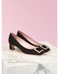 Roger Vivier Trompette Court Shoes - Black