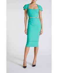 Roland Mouret Galaxy Dress - Green