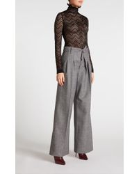 Roland Mouret - Wide-fit Trousers - Lyst