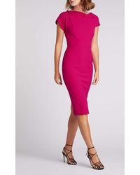 Roland Mouret Brenin Dress - Pink