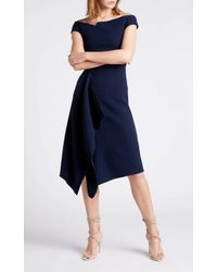 Roland Mouret Barwick Dress - Blue