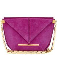 Roland Mouret Mini Classico Bag - Purple