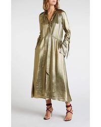 Roland Mouret Brandon Dress - Metallic