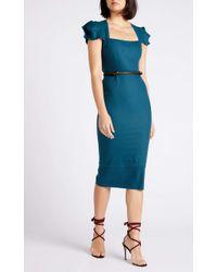 Roland Mouret Galaxy Dress - Blue