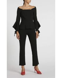 Roland Mouret Goswell Trouser - Black