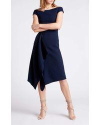 Roland Mouret Barwick Dress - Blue