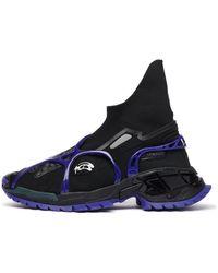 Rombaut Enzyma Sock Runner Uv - Blue