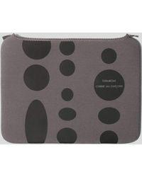 Comme des Garçons Macbook Air 11 Case - Gray