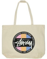 Stussy - Stock Dot Tote - Lyst