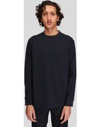 Norse Projects Johannes Pocket Ls - Blue