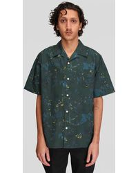 Norse Projects Carsten Print - Green