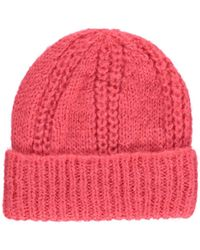 A.P.C. Reyna Knit Cap - Pink