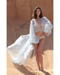 Rosamosario Zahrah, The Planet Venus Long Robe - Blue