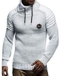 Rosegal Applique Drawstring Pullover Sweater - White