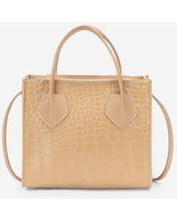 Rosegal Square Solid Stone Grain Crossbody Bag - Natural