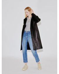 Rosetta Getty Tailored Coat - Black