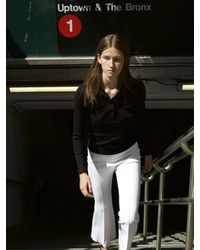 Rosetta Getty Pull On Cropped Flares - White