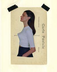 Rosetta Getty - Elbow Length Cropped Short Sleeve T-shirt - Lyst