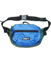 Obey Commuter Waist Pouch Green - Blue