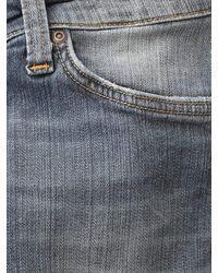 Nudie Jeans Nudie Skinny Lin Shimmering Power Jean Light Denim - Blue
