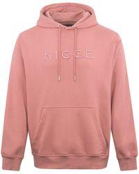 Nicce London Mercury Hood Pink