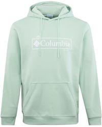 Columbia Csc Basic Logo Ii Hoodie Mint - Green