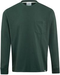 Norse Projects Johannes Pocket Ls T-shirt Forest - Green