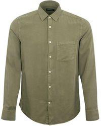 J.Lindeberg Comfort Shirt Olive - Green