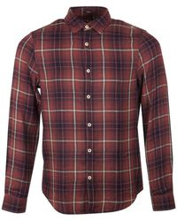 Denham - Ellis Ric Check Shirt - Lyst