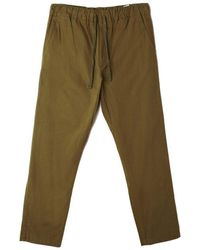 Obey Ideals Organic Traveler Pant Olive - Green