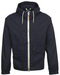 Albam Cotton Ripstop Modern Cagoule Jacket - Blue