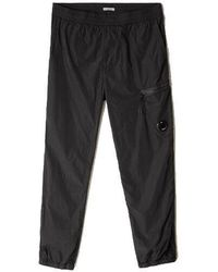 C.P. Company - Chrome Cargo Trousers Black - Lyst