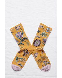 Bonne Maison Ochre Garden Mix Socks - Multicolor