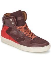Paul & Joe Hoop Shoes (high-top Trainers) - Red