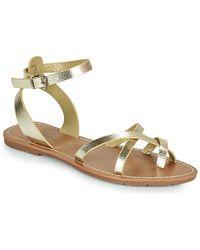 Chattawak Perla Sandals - Metallic