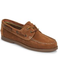 Casual Attitude Jalaya Men's Boat Shoes In Brown