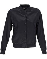 Manoush - Teddy Fleur Siatique Women's Jacket In Black - Lyst