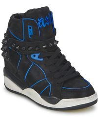 Ash - Free Women's Shoes (high-top Trainers) In Black - Lyst