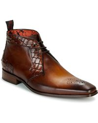 Jeffery West Scarface Mid Boots - Brown