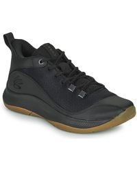 Under Armour 3z5 Basketball Trainers (shoes) - Black
