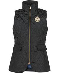 Lauren by Ralph Lauren Qltd Vest-vest Jacket - Black