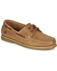 Lumberjack Navigator Boat Shoes - Brown