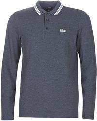 BOSS - Plisy Polo Shirt - Lyst